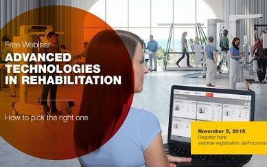Free Hocoma webinar on advanced technologies in rehabilitation