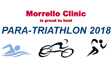 Morrello Clinic is proud to host a Para-Triathlon for charity