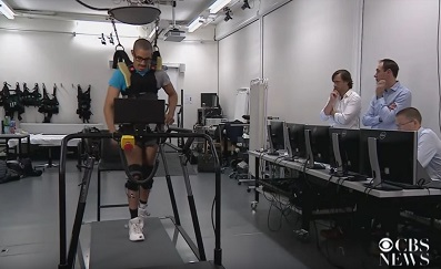Spinal implant helps 3 paralysed men walk, aided by body weight support