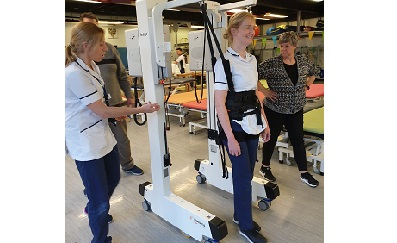 National Spinal Injuries Centre using the Hocoma Andago in clinical trial