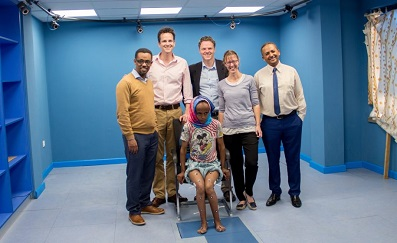 AMTI donates force plates to Ethiopia's first ever gait laboratory