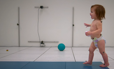 Force plates and EMG used in baby gait lab for new Netflix documentary