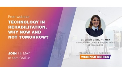 Webinar: Why rehabilitation technology should be the present