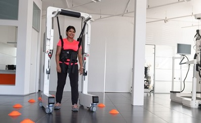 An idea for COVID-19 patients? Use the Andago to retrain walking