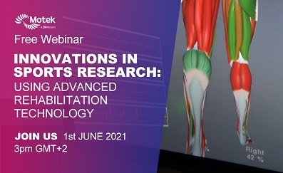 Innovations in Sports Research using Advanced Rehabilitation Technology