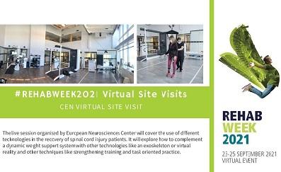 Learn about cutting-edge rehabilitation technology at RehabWeek 2021